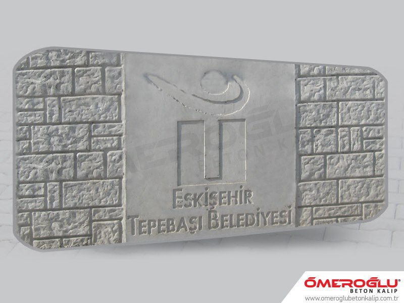 Custom Logo Concrete Designs