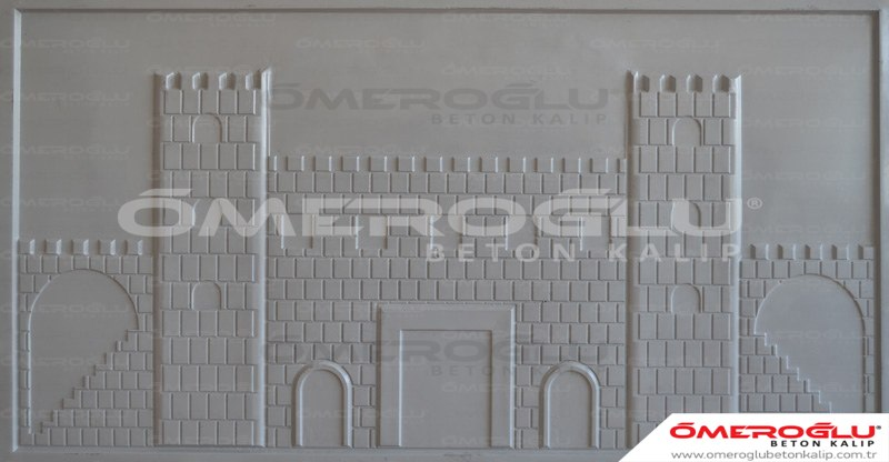 ÖMEROĞLU BETON KALIP - Castle Of Concrete Mold Design  - 141