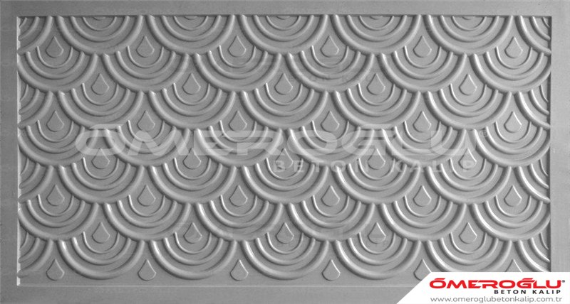 ÖMEROĞLU BETON KALIP - Drops Design Of Concrete Mold  - 134